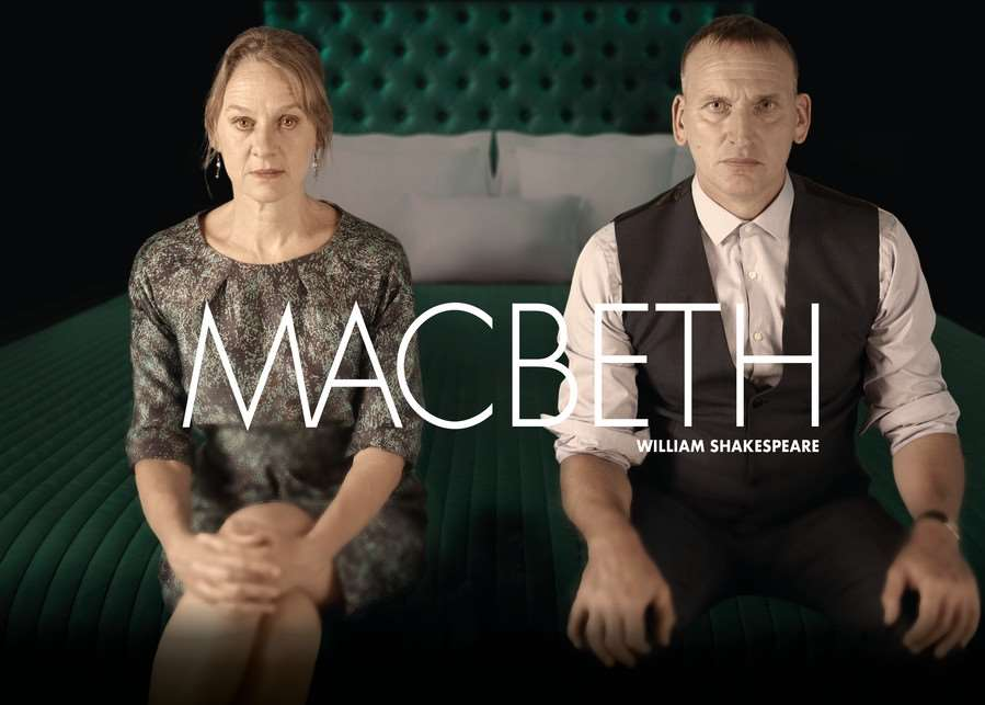 Christopher Eccleston and Niamh Cusack in Macbeth.