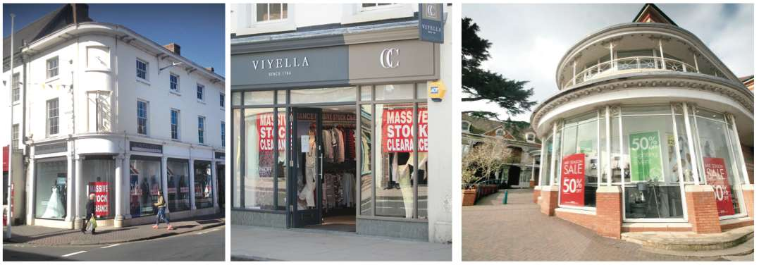 Town Centre Chiefs Concern Over Shops Under Threat