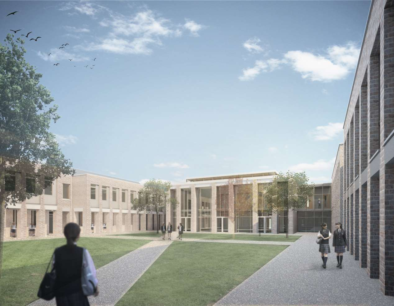 How the new King's High School for Girls will look.