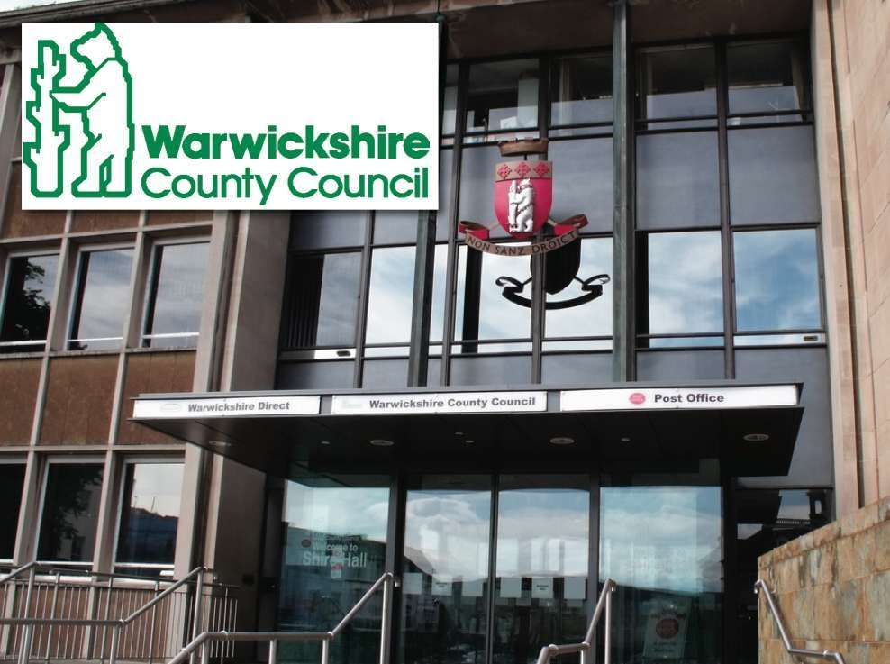 Warwickshire County Council's Shire Hall headquarters in Warwick.