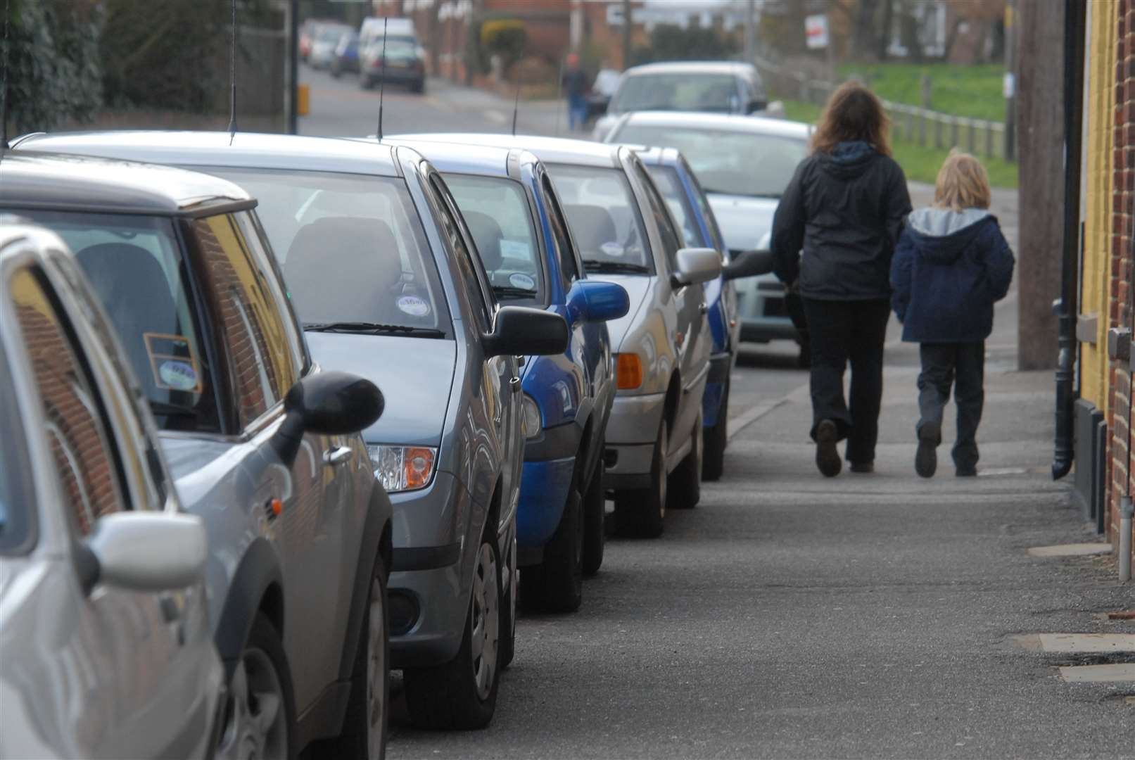 Research suggests cars are parked an average of 23 hours a day