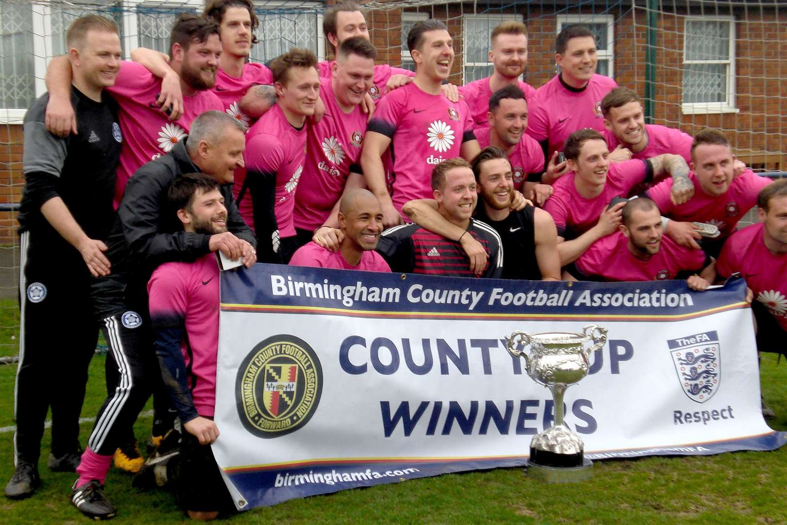 Claverdon became the first Stratford Alliance side to win a Birmingham County FA competition, winning the Saturday Amateur Cup in 2018. Photo submitted