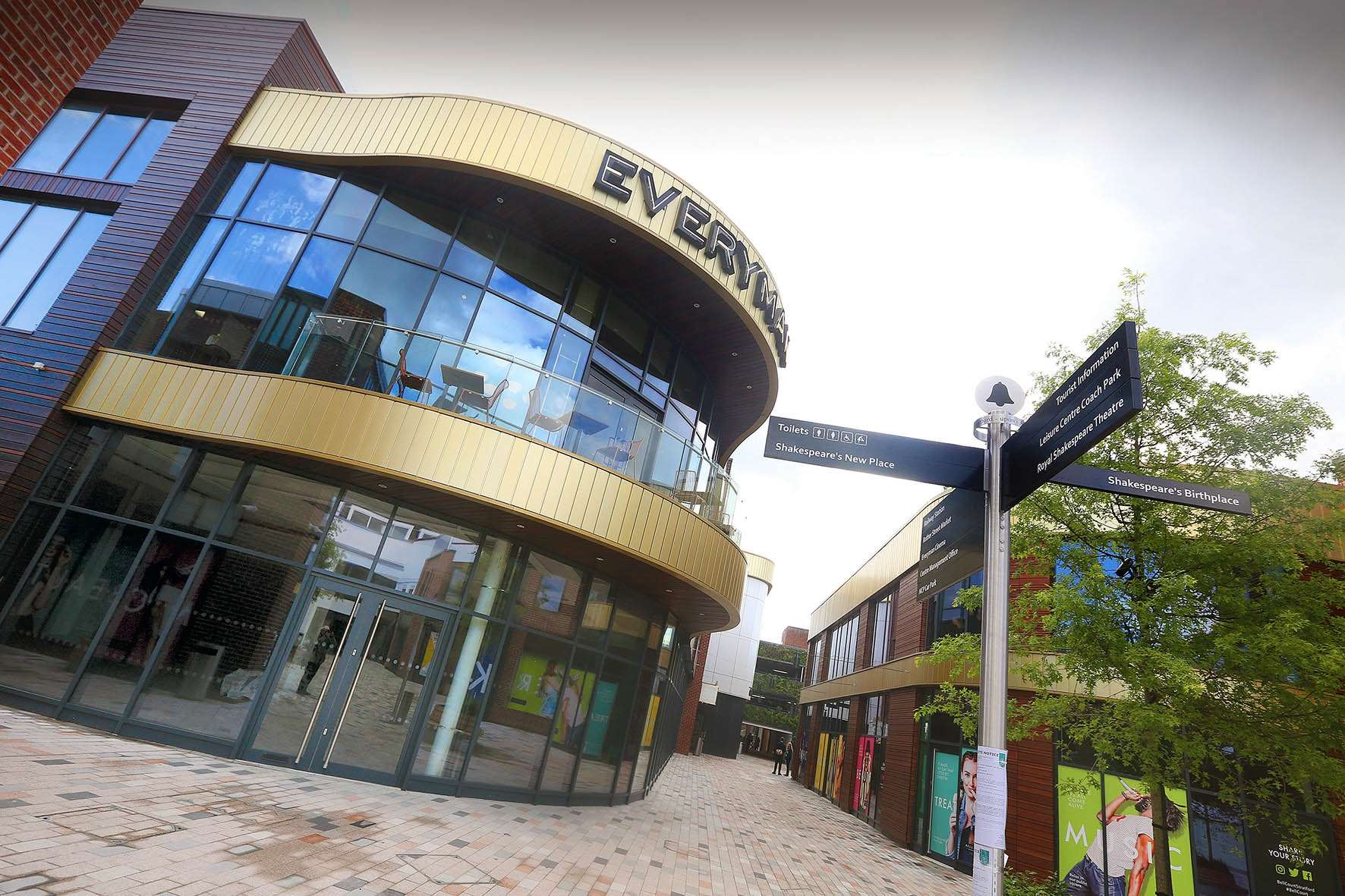 The Everyman cinema in Stratford-upon-Avon is to reopen on Friday. Photo: Mark Williamson