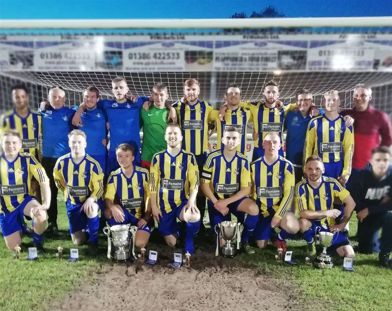 Inkberrow won the Division One title in 2019. Photo submitted
