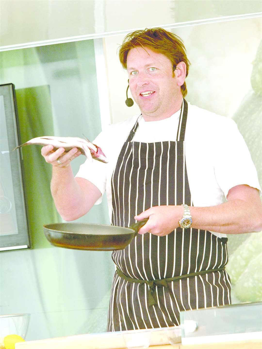 Celebrity chef James Martin at a previous Stratford Food Festival. (44792854)